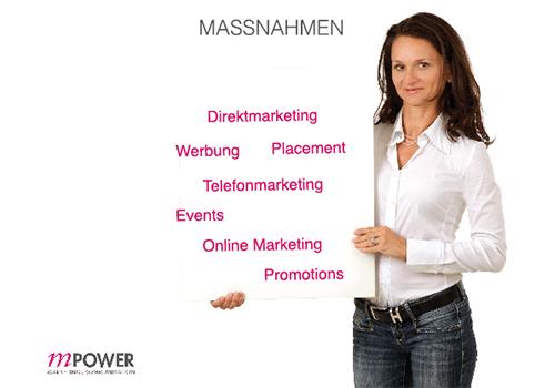 Marketing Maßnahmen